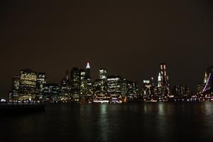Min dotter och jag var till New York på våran drömresa och då åkte vinaturligtvis över till Brooklyn för att se den berömda utsikten!