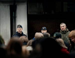 Stämningen var hotfull när antivåldsdagen på Conventum spårade ur. Polis kallades till platsen.