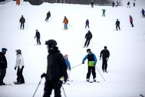 Romme Alpin populärt mål för turister.