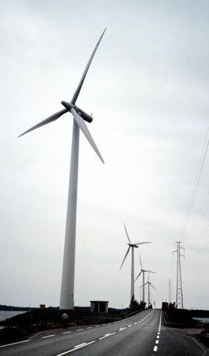 Också lokalt. Den lokalt ägda vindkraften hotas av nya skatteregler.foto: VLT:S arkiv