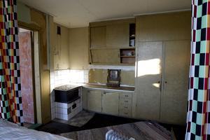 Köket i vaktmästarbostaden.