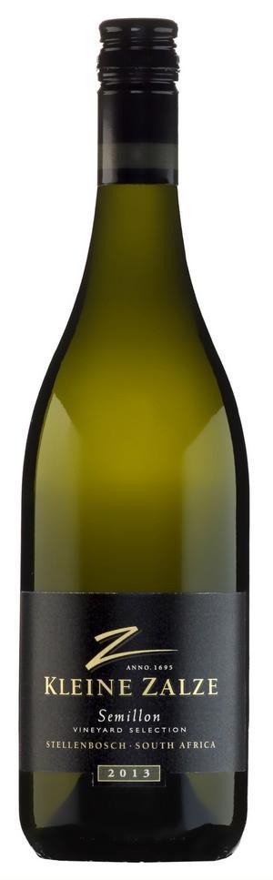 Semillondruvan har en karaktärsfull smak som exponeras på ett fint sätt i sydafrikanska Kleine Zalze Vineyard Selection Semillon.