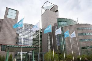 Det finska public service-företaget Yle, motsvarande Sveriges Radio och Sveriges Television.