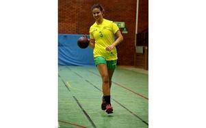 Sebel Lindblom, 21, division 1-spelare i Ludvika HF, är uttagen till VM-spel med Australien. Foto: Johnny Fredborg