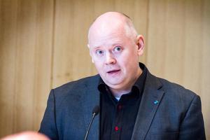 Johan P Bång, ordförande för Moderaterna i Bollnäs.