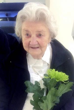 Majlis Bergström blev kändis när hon var lucia på Solhaga.