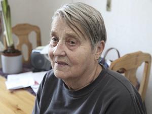 Annikki Landström, 83 år, i Ludvika är en av dem som utsatts för bedrägerierna.