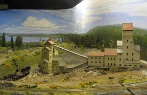 Ställbergs gruva som modell för tågklubb.