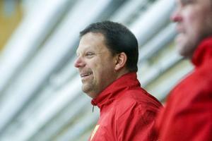 Håkan Nilsson hade all anledning att vara glad under fredagskvällens vinstmatch.