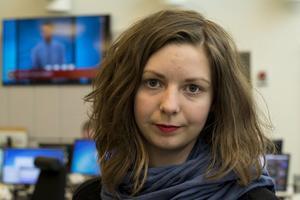 Emelie Rosén visste tidigt att hon ville bli journalist.