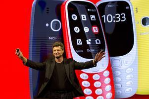 Nokias gamla telefon 3310 återlanseras.