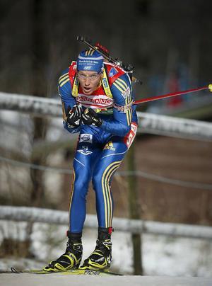 Världscupen hade premiär i Östersund i går, med herrarnas distanslopp. Björn Ferry, Sverige, slutade 61:a.