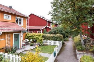 Radhus i kulturkvarteren i Östanfors.