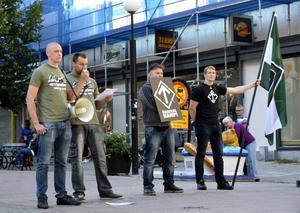 Förra gången Svenska motståndsrörelsen var i Sundsvall hade de en olaglig demonstration på stan.