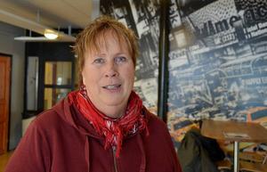 Berit Karlsson, styrelseledamot i kvinnoföreningen Sadaka som drivit bland annat Nckstabadet.