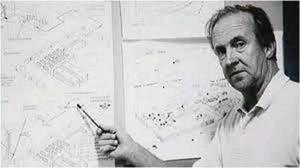 Uppfinnaren Olle Tegström som gick bort för några år sedan. Han konstruerade en vätgasbil redan 1985.