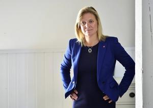Finansminister Magdalena Andersson (S)   Enklaste valet. Hela hennes liv har varit en förberedelse inför uppdraget.