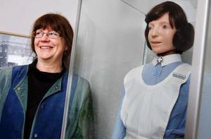 """""""Varje dag känner sjuksköterskorna att de inte har gjort ett bra arbete med tillräcklig tid för patienterna"""", säger Karin Hallin. Ändå ångrar ingen sitt yrkesval.Foto: Ulrika Andersson"""