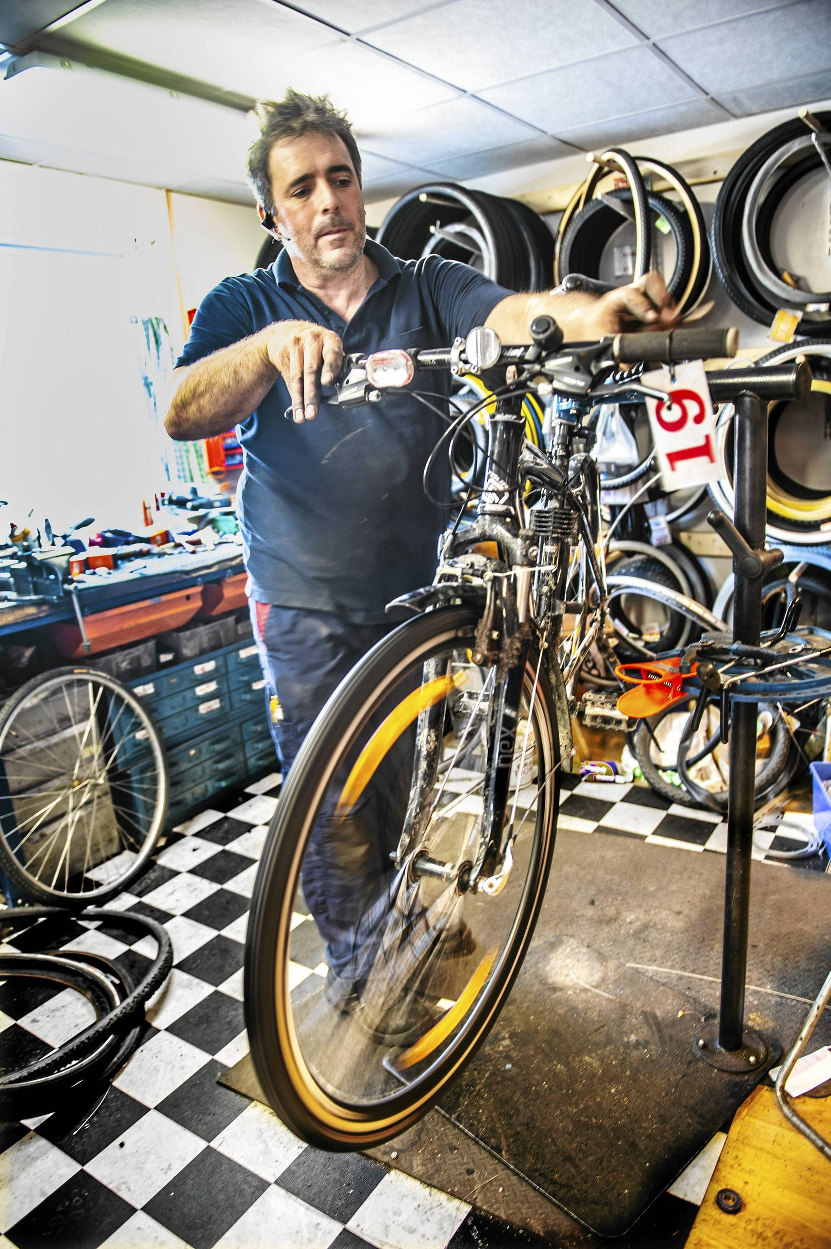 cykel chefen
