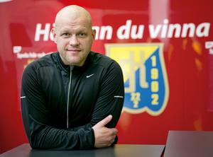 Andreas Johansson räddade kvar SSK i Hockeyallsvenskan. Foto: Magnus Grimstedt