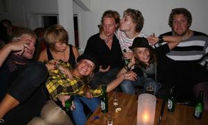 Å. Ulf, Karin, Anton, Micke, Erik, Jessica och Alexandra