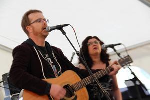 Ljusdalsbandet Harmony road tävlade med låten Weekend rock and roller.