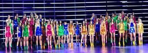HÅRD KONKURRENS. Här är startfältet inför Elite Model Look 2011 i Shanghai.