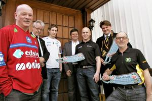 Anders Olsson, Stig Edvinsson, Anders Nygren, Hans Jonsson, Roger Collin, Per Hägerö och Gunnar Lindbom deltog alla i Ovanåkers kyrka under årets Vägen till livet-gudstjänst.