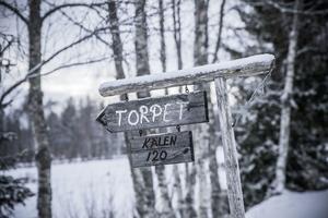 Grenåskilen och Torpet ligger en och en halv mil från Hammerdal.