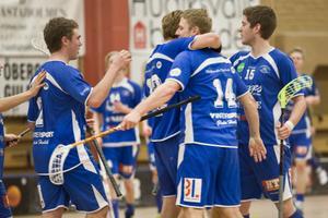 Mikael Walfridsson (14) hittade rätt sex gånger mot Kiruna.