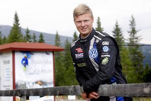 25-årige Johan Kristoffersson var förstås nöjd med dubbelsegern i Bydalen.