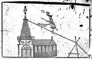 Ovan: Ingeborg Eisfeldt föddes i Finland 1850 av Friedrich och Concordia Eisfeldt, blev föräldralös vid tolv års ålder, men utvecklade en egen cirkusverksamhet och kunde titulera sig cirkusdirektör. Till höger: Avancerad lindans är tidigt dokumenterad på en rad platser som de ursprungliga romerna passerade på sin väg från Indien för minst 1000 år sedan. Vem som lärde av vem är oklart. Men i februari 1839 ankommer cirkusartisten Friedrich Eisfeldt till Sverige och i april samma år får han regeringens tillstånd att framföra sina vådliga balanskonster offentligt.