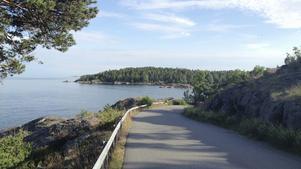 Strandvägen, eller Ringvägen, i Nynäshamn bör vara bilfri, anser insändarskribenten.