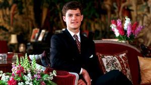 1997. Prins Carl Philip inför sin 18-årsdag.