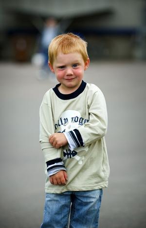 Rymling. Zimon Granvold, tre år, rymde från förskolan Konvaljen i Gustafs på onsdagen.
