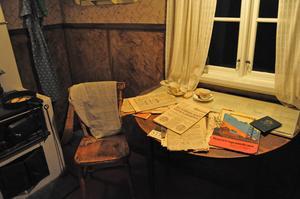 Ett typiskt kök i Sverige under 1940-talet. Elektriciteten var en viktig ingrediens och underlättade oerhört.