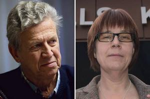 Lars-Gunnar Hultin (V) och Åsa Ulander (S).