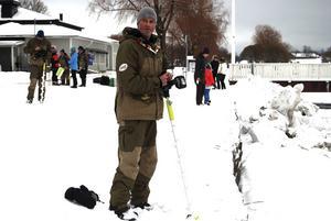 Jörgen Storm berättade om tävlingsreglerna.