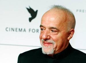 Författaren Paulo  Coelho.