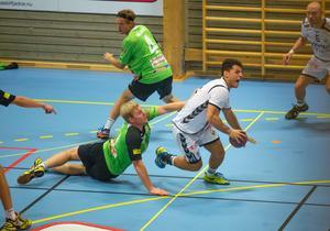 Patrik Rödin och Rimbo var steget efter Redbergslid.