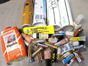 I Krokom är trenden att farligt avfall inte blandas med hushållssoporna.