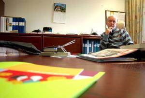 Peter Frost, chef på arbetsförmedlingen, är orolig över att arbetslösheten ökar i Strömsunds kommun.    Foto: Jonas Ottosson