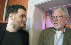 Oscar Löfgren, Färila, och Anders Löfqvist, Göteborg kommer båda att regissera teaterföreställningar i Ljusdals kommun i sommar.