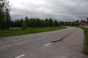Central plats. På området på andra sidan vägen från Folkets hus i Vikmanshyttan vill ridklubben bygga sin paddock.