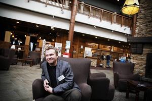 Jimmy Eriksson, kultursamordnare på länskulturen, är arrangör av konferensen om kultur och hälsa i Åre.