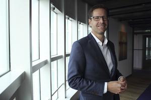 Tobias Hultberg, vd för Hotel Plaza, Aros Congress Center och Hotel Esplanade, satsar hårt på Sky Spa i samarbete med Harmony Plaza Spa.