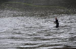 Fritidsfiske i Dalälven. Foto: Leif R Jansson / SCANPIX