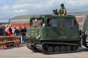 Börje Nordin körde bandvagn.
