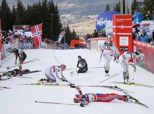 Slalombacken i Val di Fiemme, som avslutar Tour de ski, har skördat många offer genom åren (arkivfoto).