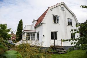 Villan är byggd 1934.